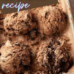 oreo chocolate ice cream for pinterest
