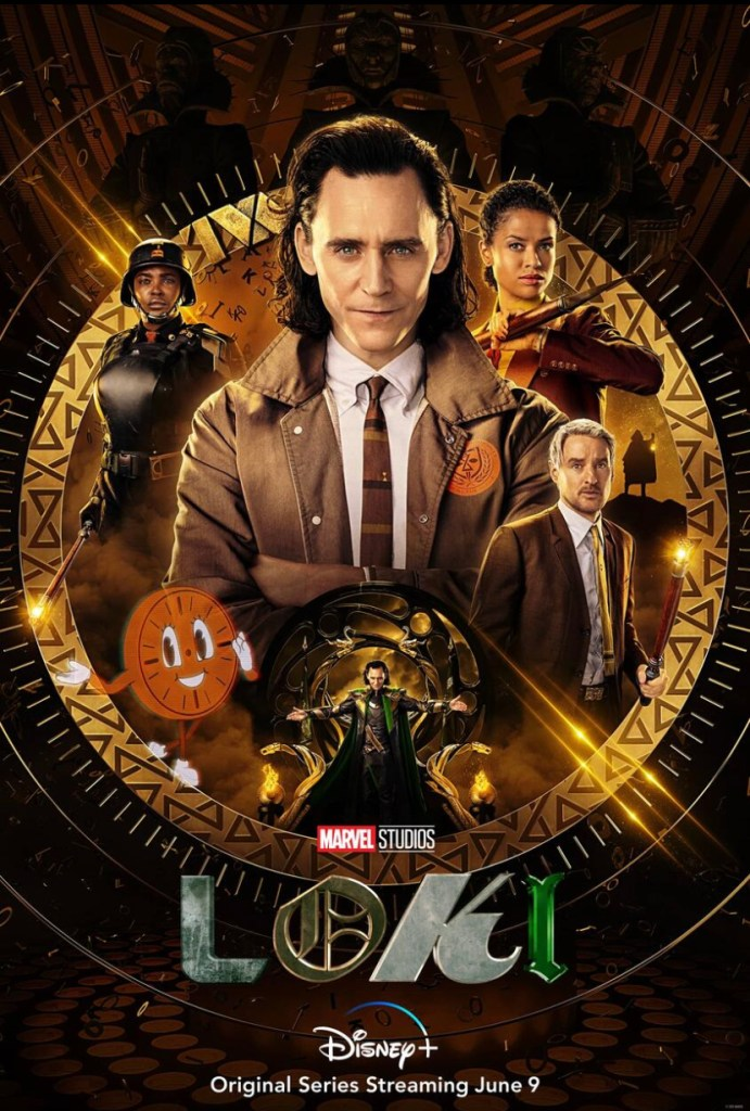 official loki series poster