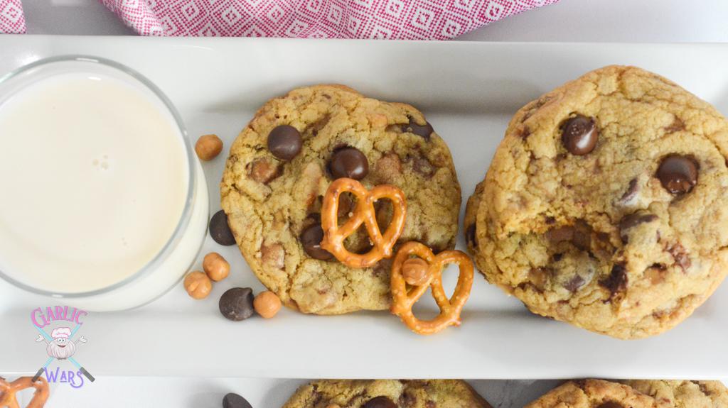 kitchen sink cookies with milk