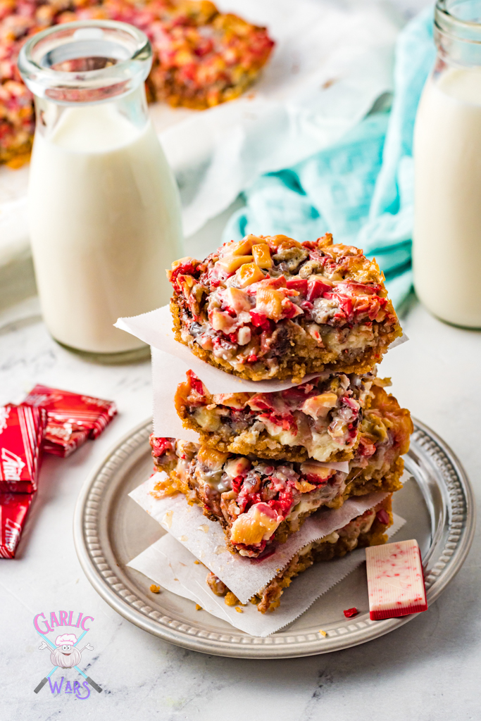 7 Layer Peppermint Bars
