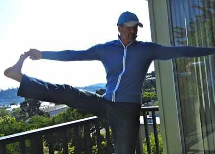 "Joe Garma practices ""mobility"""