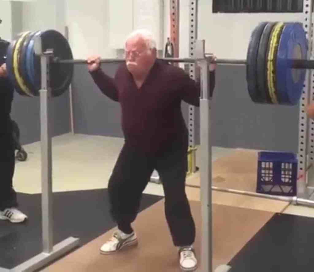 A 330 lb lift by an 84 year-old