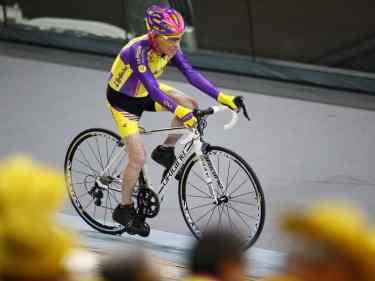 105 year old set bike record
