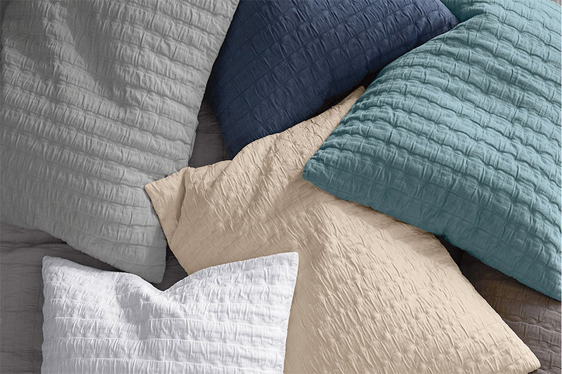 what are pillow shams threads by