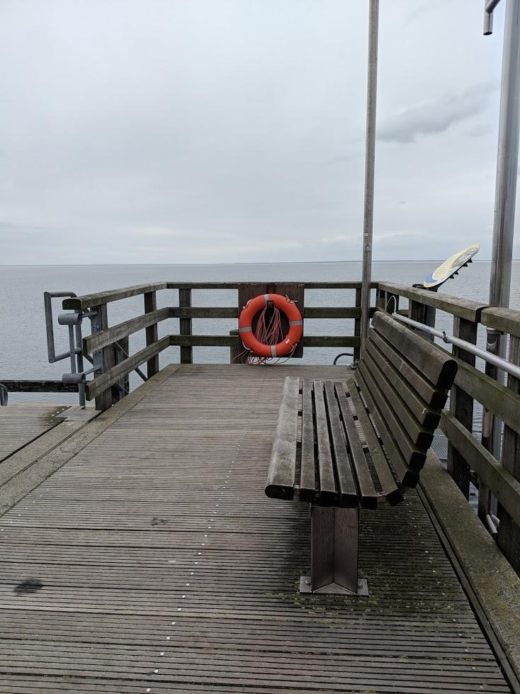 Brücke am Meer - Unsichtbare Symptome bei MS