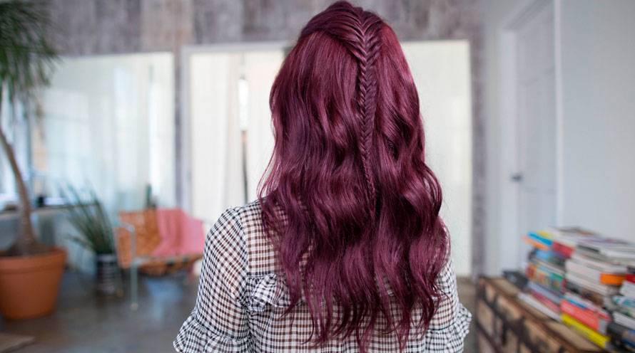 Purple Hairstyles Purple Hair Color Amp Hair Dye Ideas