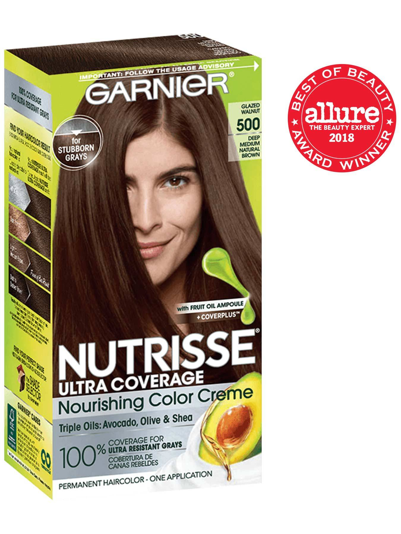 Nutrisse Ultra Coverage Neutral Medium Brown Hair Color