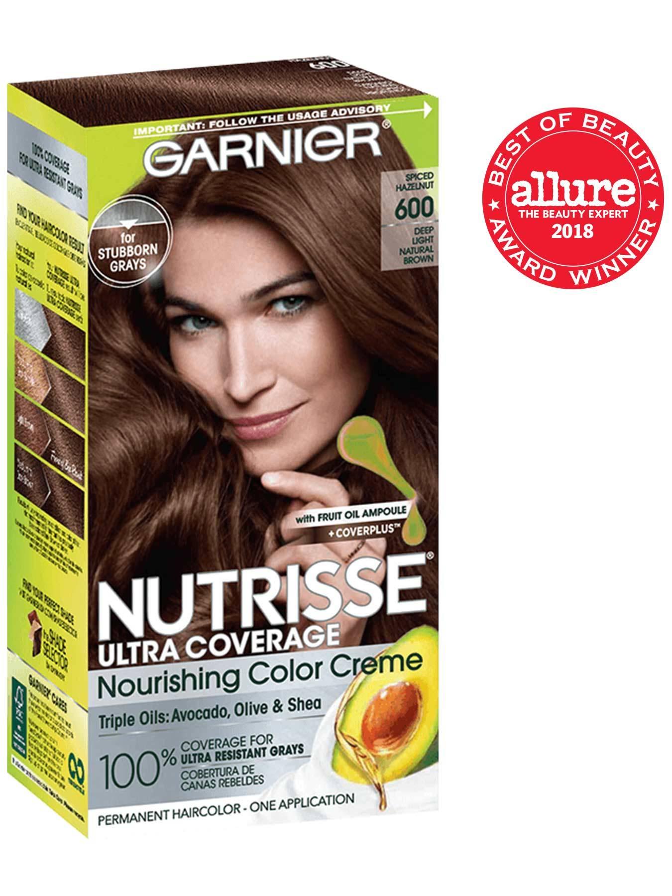 Nutrisse Ultra Coverage Neutral Light Brown Hair Color