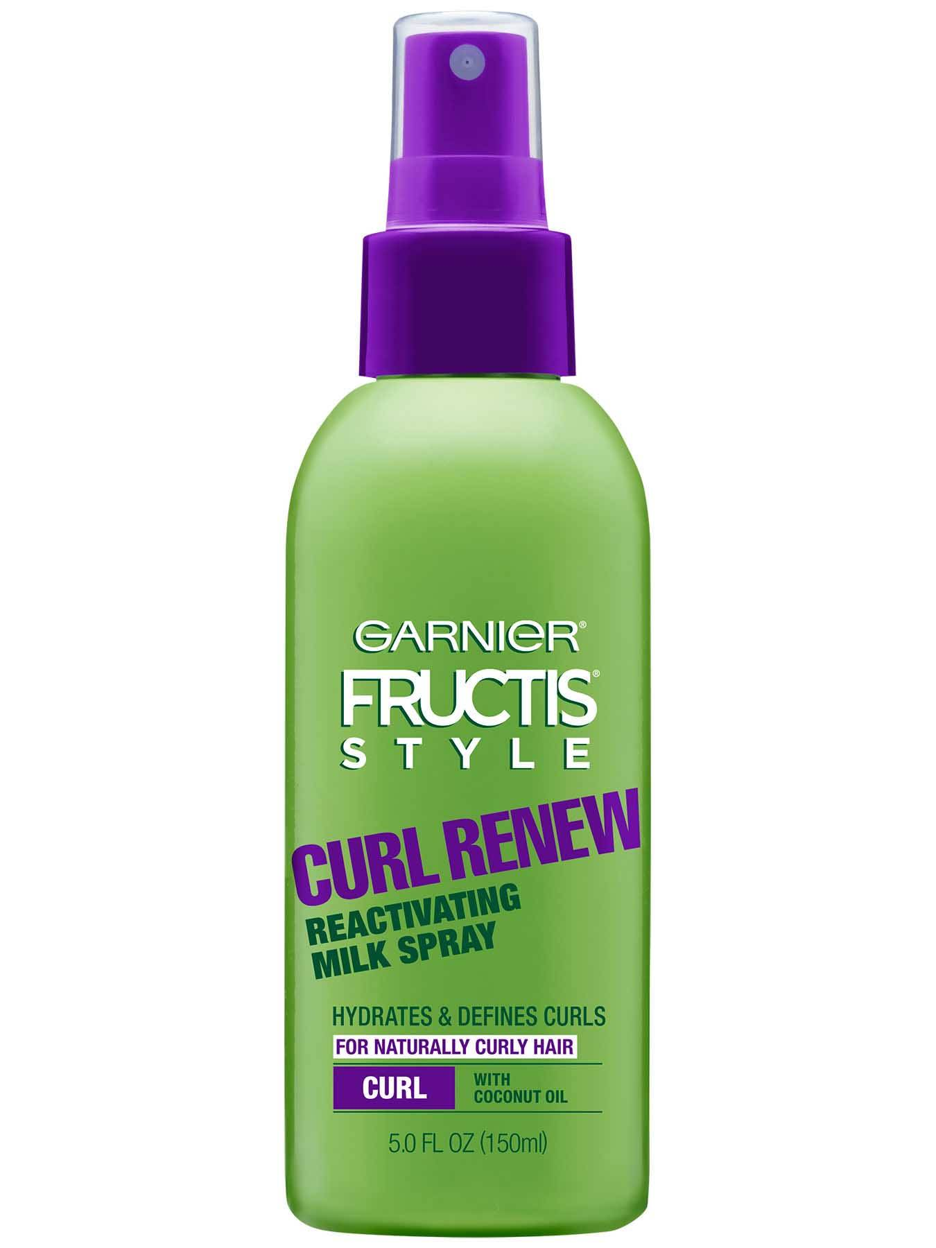 Curl Renew Reactivating Milk Hair Spray Garnier Fructis