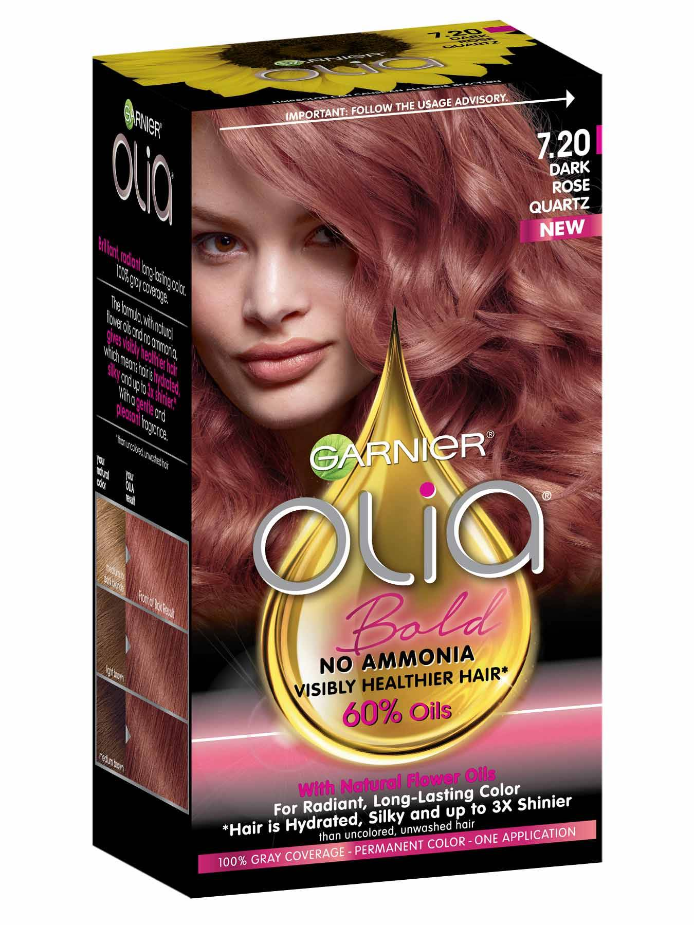Olia Ammonia Free Permanent Medium Pearl Blonde Hair