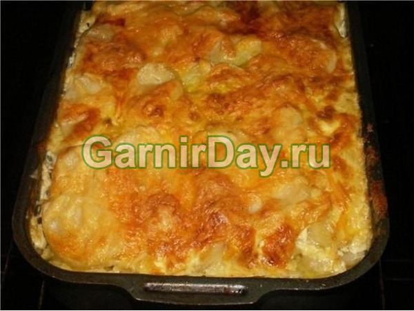 French potatoes with minced meat