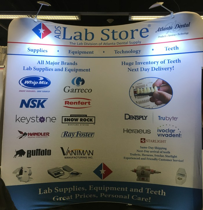 LMT Lab Day Chicago 2017 - Vendor Fair, Atlanta Dental