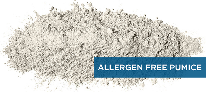 Our Pumice is 100% Natural and Allergen Free