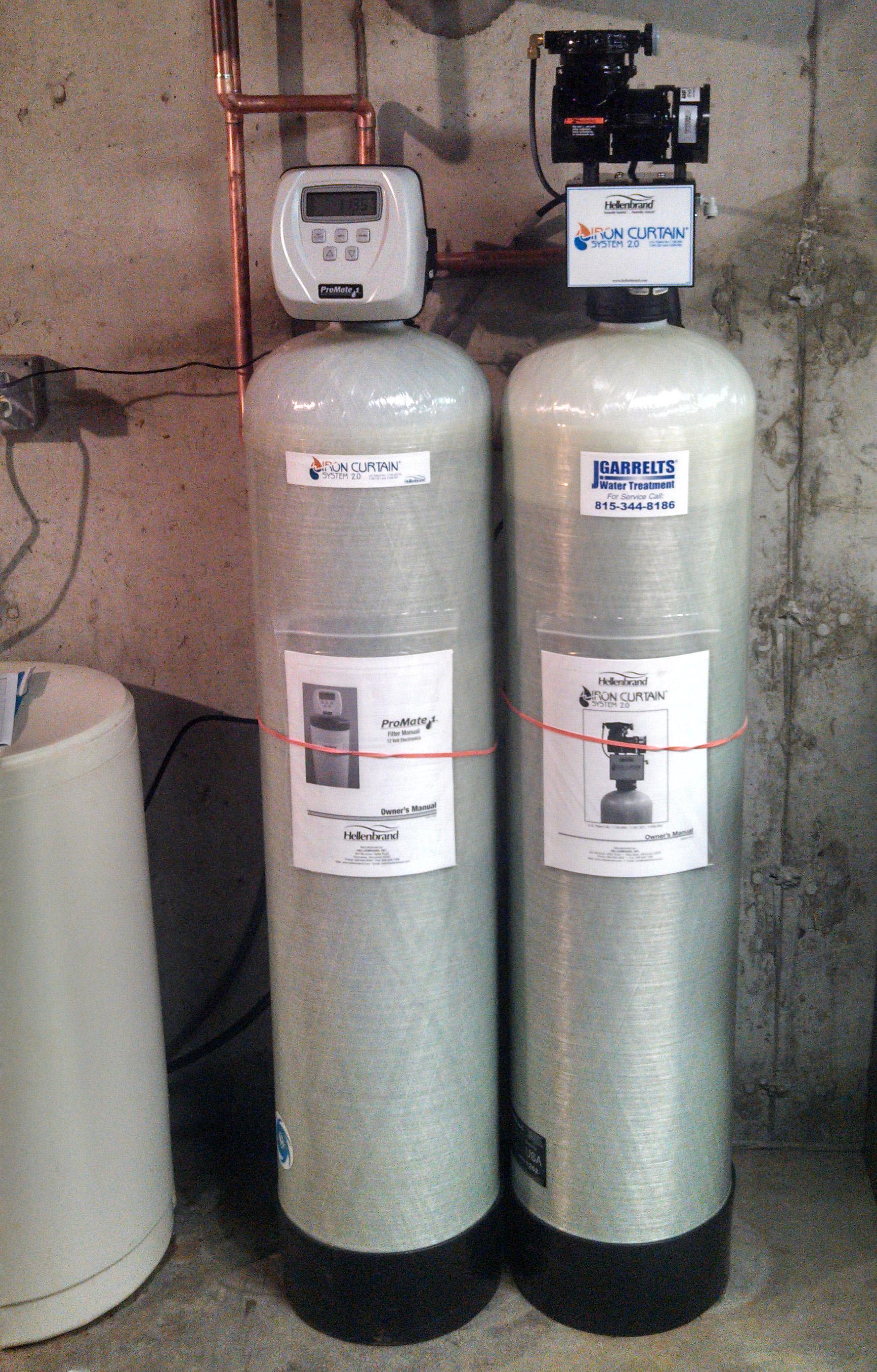 rockford il iron filter garrelts water