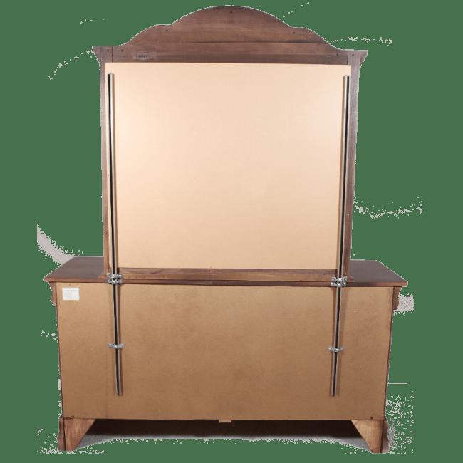 heavy duty dresser mirror support