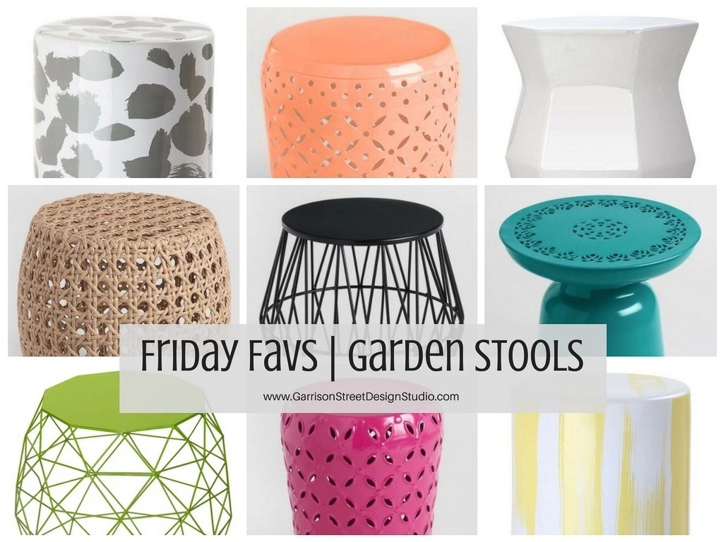 with every day and garden two burlap crystal stools styling make an