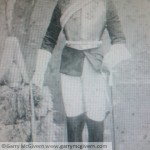 George Carr Garry's great granddad who was in the lifeguards