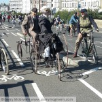 Old bikes along Southsea seafront