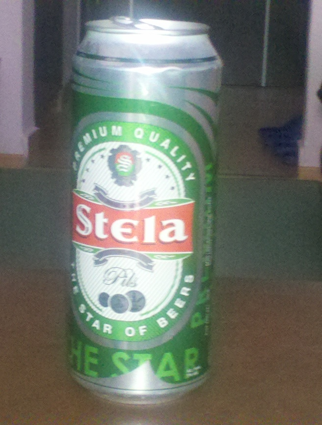 Albanian can of beer