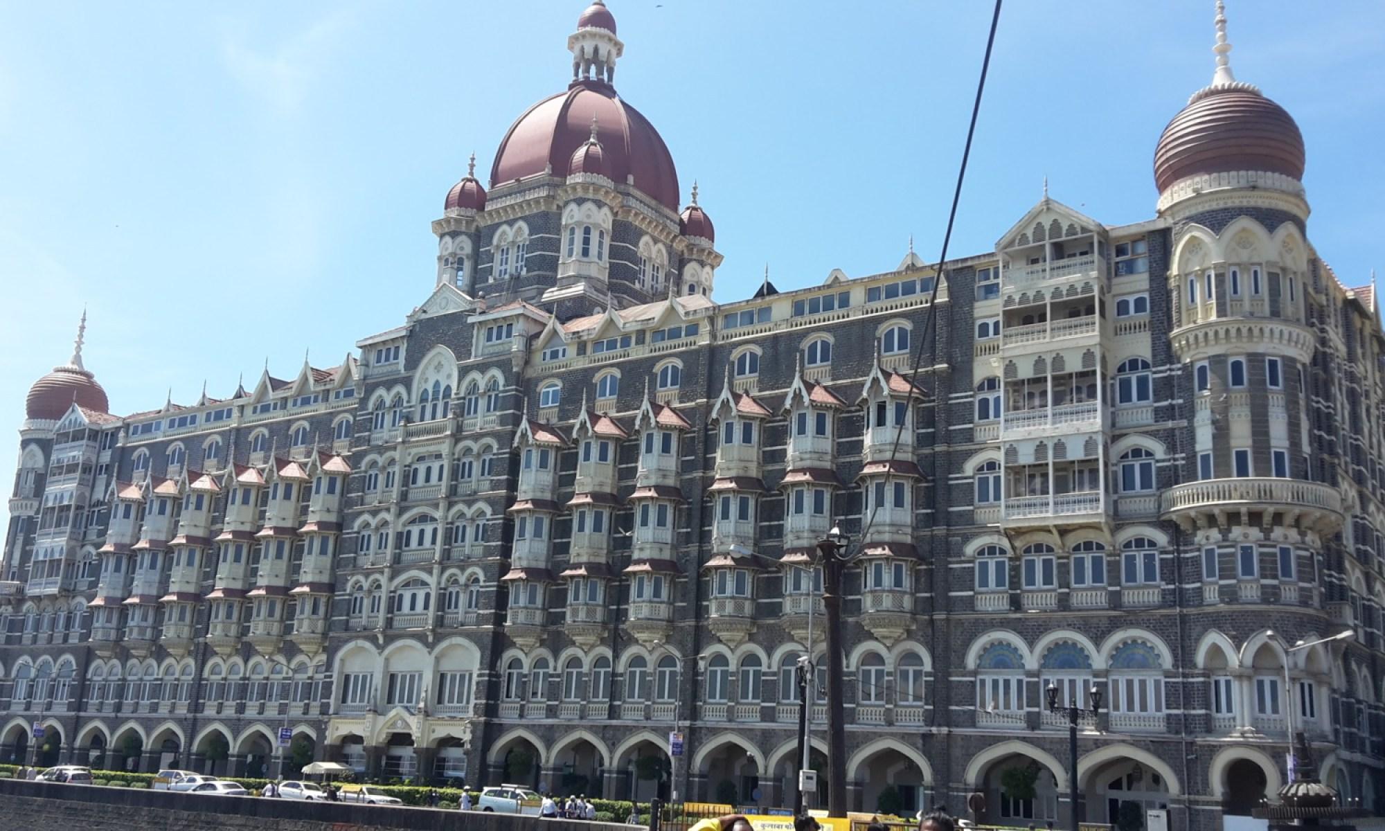 The Taj Mahal Palace Mumbai.
