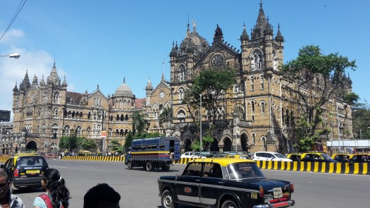 Chatropati Shivaji railway station in Mumbai