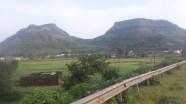 Countryside once Garry had left Mumbai.