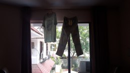 Drying the washing