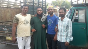 Making friends in Dhule