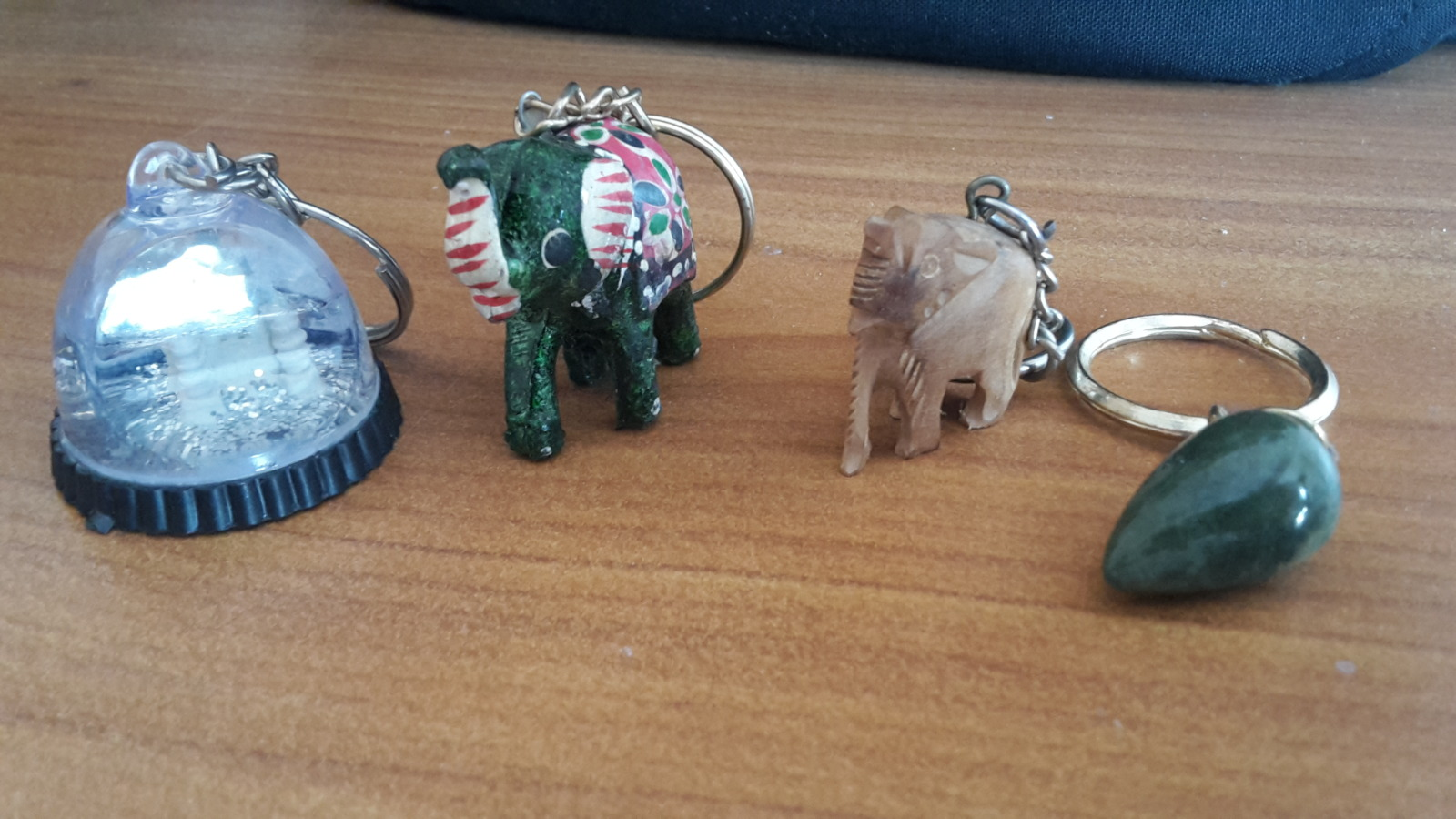 Trinkets given to me by Kalpana, the wife of the owner of the hotel Ganapati Palace in Dhule.