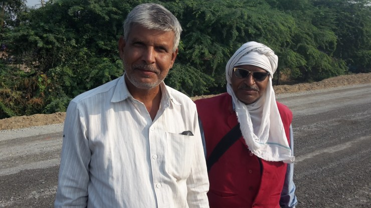 Two Indian men