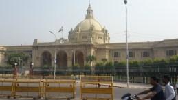 Vidhan Sabha in Lucknow.