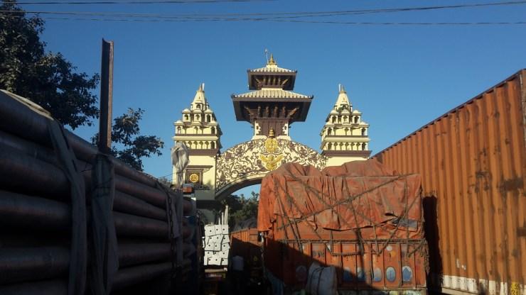 Nepal border gate