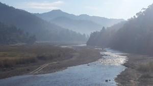 Starting to climb up the Tribhuvan Highway.
