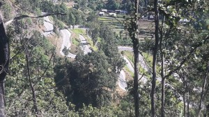 One of the many twisting roads Tribhuvan Highway.