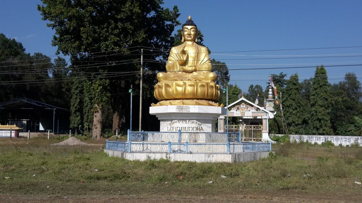 Buddha by the road