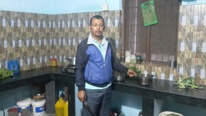 The landlord from my guesthouse in Lamahi.