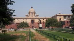 Parliament building Delhi