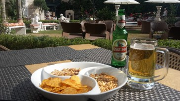 Afternoon snack at the Royal Plaza hotel Delhi