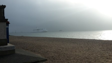 Clouds closing in at Southsea