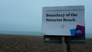 Garry couldn't find anybody on here at the naturist beach in Brighton