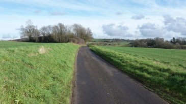 Quiet lanes in the Southdowns