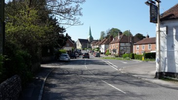 South Harting village
