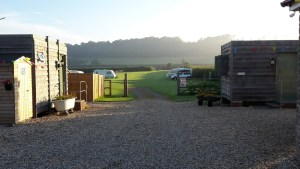 Campsite near Bridgwater