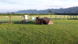 The Hideout campsite
