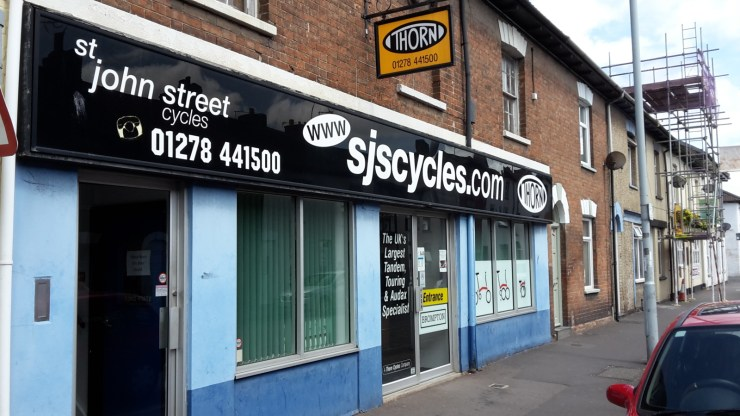 St John Street Cycles shop