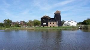windmill along the river Arun