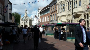 Farmers market in Chichester