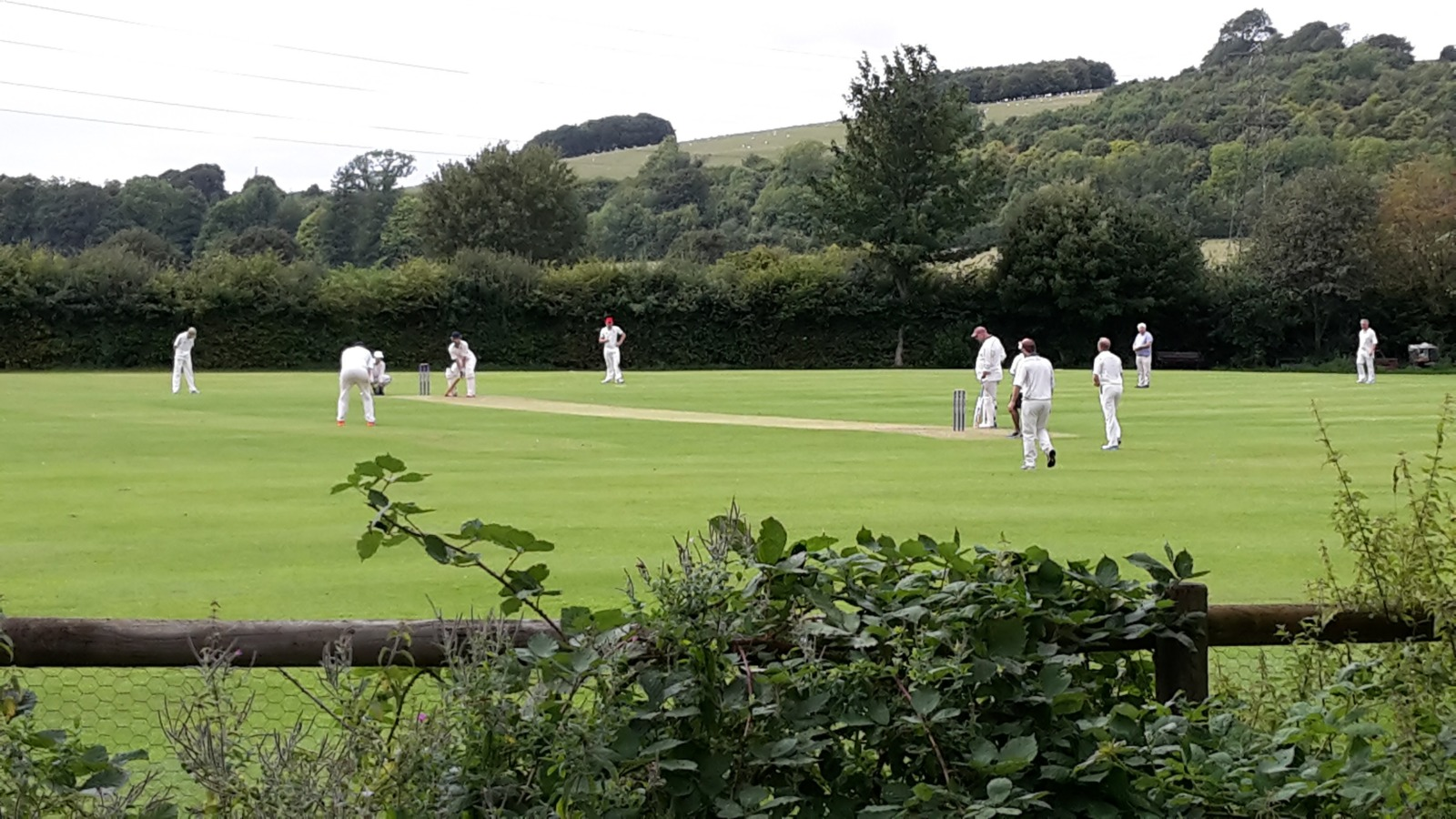 Cricket on the village green