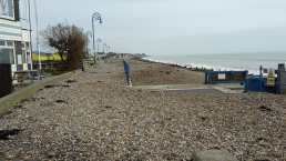 Pebbles on the prom