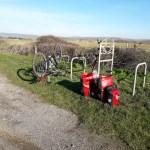 Bike, panniers